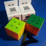 Cub Rubik 3x3x3 MoFangGe QiYi Warrior Profesional 56mm