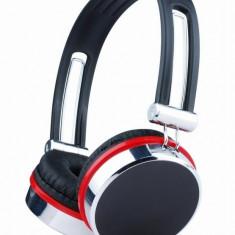 CASTI Gembird stereo cu microfon lungime fir 1.5m, control volum pe cablu, conector jack 3.5mm (MHS-903) - Casca PC