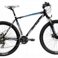 Bicicleta DHS Terrana 2725 (2017) Negru-Verde, 457mmPB Cod:21727254568 - Mountain Bike DHS, 18 inch