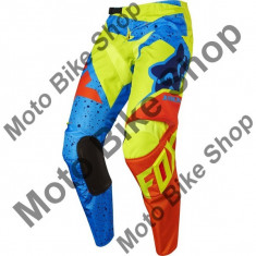 MBS FOX RENNHOSE 180 NIRV, flo yellow-blue, 38, 17/143, Cod Produs: 1725858638AU - Imbracaminte moto, Pantaloni
