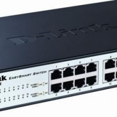 Switch SMART 16 porturi 10/100/1000M, 16 porturi Gigabit, Capacity 32Gbps, 8K MAC, 11