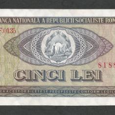 ROMANIA 5 LEI 1966 [3] XF++ - Bancnota romaneasca