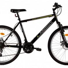 Bicicleta Kreativ 2605 (2017) Cadru 500mm NegruPB Cod:217260560 - Mountain Bike