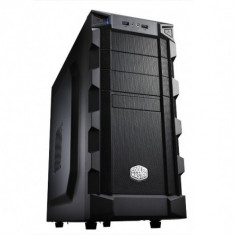 CARCASA Cooler Master fara sursa, K280, mid-tower, ATX, 1* 120mm fan (inclus), I/O panel, black