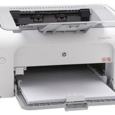 Imprimanta HP LaserJet Pro alb/negru P1102; A4, 18ppm, 600dpi, 2MB RAM, fpo 8.5 sec, host-based printing driver, 150 coli, USB, max 5.000pag/luna, ... - Multifunctionala