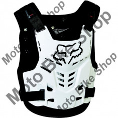 MBS FOX BRUSTPANZER PROFRAME LC, white, L/XL, LE2017, Cod Produs: 13558008LXLAU - Armura moto