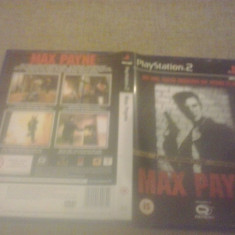 Max Payne - PS2 Playstation - Jocuri PS2, Actiune, 16+, Single player