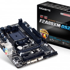 MB Gigabyte skt. FM2+, AMD A88X, 2*DDR3 2133/1333, VGA/DVI, 1*PCIe 2.0 x16, 1*PCIe 2.0 x1, 1*PCI, 4*SATA3 (RAID), Gigabit LAN, 5.1CH, 2* USB3.0, mATX - Placa de Baza