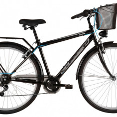 Bicicleta DHS Citadinne 2833 (2017) Gri, 460mmPB Cod:21728334670 - Bicicleta de oras DHS, 11 inch, Otel