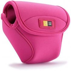 Husa camera foto compacta Case Logic, neopren, roz
