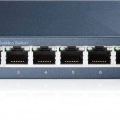 Switch 8 porturi 10/100/1000 Gigabit, carcasa metalica, TP-LINK