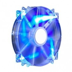 Cooler COOLER Master Fan for Case MegaFlow 200x200x30 mm, w. 4 LED blue, sleeve bearing ''R4-LUS-07AB-GP'' - Cooler PC