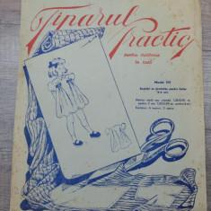 Tiparul practic pentru croitorie in casa/model 101, rochita cu fundulite 2-4 ani - Carte design vestimentar