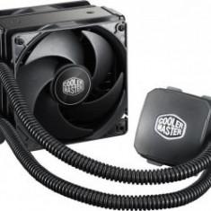 Cooler COOLER Master CPU cu lichid, universal, Nepton 120XL, soc. LGA 2011-3/2011/1366/115x/775/FMx/AMx, radiator 120x38 mm, 2x Jetflo 120 mm, ... - Cooler PC
