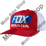 MBS FOX KAPPE SNAPBACK HONDA STANDARD, red-white, uni, Cod Produs: 18988054AU