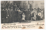 Carte Postala - Familia Regala Serbarea Bobotezei 1901, Circulata, Printata