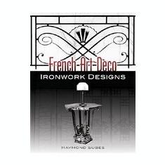 French Art Deco Ironwork Designs - Carte in engleza