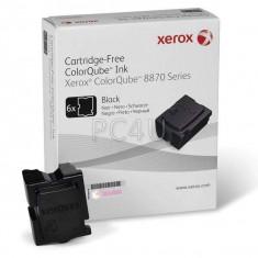 Cartus cerneala Original Xerox Negru, compatibil ColorQube 8870, 6 sticks, 16700pag