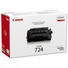 Toner Original pentru Canon Negru CRG-724, compatibil LBP6750CDN, 6000pag