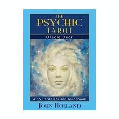 The Psychic Tarot Oracle Cards: A 65-Card Deck, Plus Booklet! - Carte ezoterism