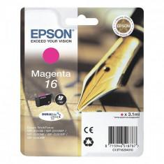 Cartus cerneala Original Epson Magenta 16XL compatibil WF2540