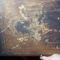 Icoană foarte veche - Icoana cu foita de aur