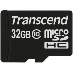 MicroSDHC 32GB (Class 10) TRANSCEND