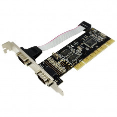 Card PCI adaptor la 2 x SERIAL RS 232, Logilink