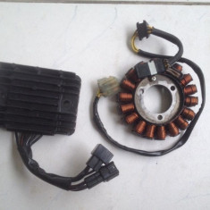 Stator generator si Releu incarcare Suzuki GSX-R 600 750 K6-L2 2006-2012 - Releu incarcare Moto
