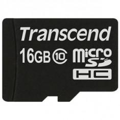 MicroSDHC 16GB (Class 10) TRANSCEND