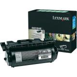 Toner Original pentru Lexmark Negru, compatibil Optra T640/642/644, 21000pag 64016HE