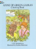 Anne of Green Gables Coloring Book, Mark Twain