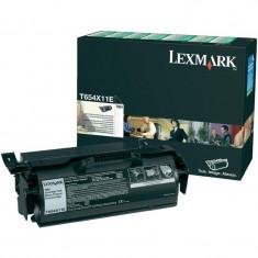 Toner Original pentru Lexmark Negru, compatibil Optra T650/652/654, 7000pag