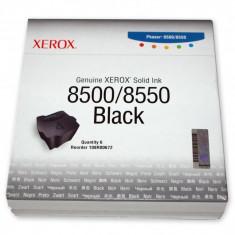 Cartus cerneala Original Xerox Negru, compatibil Phaser 8500/8550, 6 sticks, 6000pag