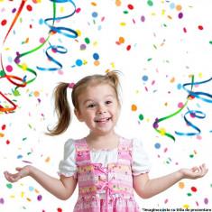 Confetti multicolor pentru petrecere copii