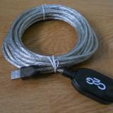 Cablu Prelungitor Usb activ 5m C2G 81655. - Cablu PC