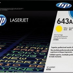 Toner Original pentru HP Yellow, compatibil LJ 4700, 10000pag