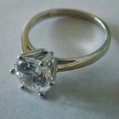 Inel argint cu zirconiu -1492