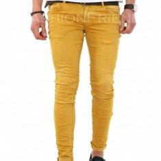 Blugi fashion - blugi barbati - blugi conici - COLECTIE NOUA - 7962, Marime: 34, Culoare: Din imagine