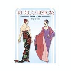 Art Deco Fashions Paper Dolls - Carte in engleza