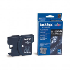 Cartus cerneala Original Brother Negru LC1100HYBK compatibil MFC5895CW/DCP6690CW/MFC6490CW/6890CDW, 900 pag.