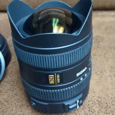 Obiectiv Sigma, Canon - mount 8-16mm, f 1:4.5-5.6 USM - Obiectiv DSLR