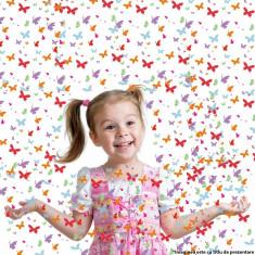 Tun confetti fluturasi pentru petreceri, 60 cm - Decoratiuni petreceri copii