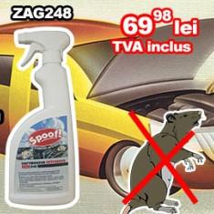 Spray impotriva mirosului de rozatoare ZAG248 si Spray anti rozatoare ZAG247 - Solutie curatat motor Auto