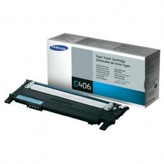 Toner Original pentru Samsung Cyan, compatibil CLP-360/365/CLX-3300/3305, 1000pag