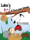Luke's A to Z of Australian Animals: A Kids Yoga Alphabet Coloring Book