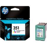 "Cartus cerneala Original HP Tri-color 351 w.Vivera ink, compatibil DJ D4260/4360/J5730/5780/6480/PS C4205/4272/4280/4480/5280, 3.5ml ""CB337EE"" - Cartus imprimanta"