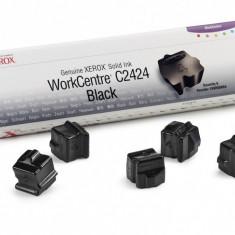 Cartus cerneala Original Xerox Negru, compatibil WorkCentre C2424, 3 sticks, 6800pag