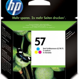Cartus cerneala Original HP Tri-color 57, compatibil DJ450/5xxx/96xx/PSC1110/1xxx/2xxx, 17ml, C6657AE