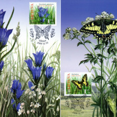 LITUANIA 2009, CM, Fauna, Fluturi, Flora, Europa